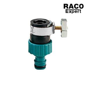 Raco Expert RT55223C ข้อต่อก๊อกน้ำแบบมีแคลมป์รัด