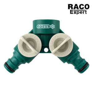 Raco Expert RT55255C ข้อต่อก๊อกน้ำ 2 ทาง ต่อสายยาง ข้อต่อสายยาง