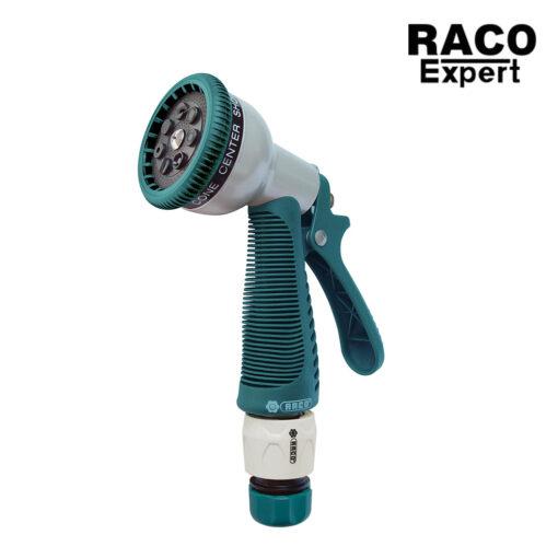 Raco ปืนฉีดน้ำฝักบัวปรับระดับได้หัวโลหะพร้อมข้อต่อ RT55/326C อุปกรณ์จัดสวน