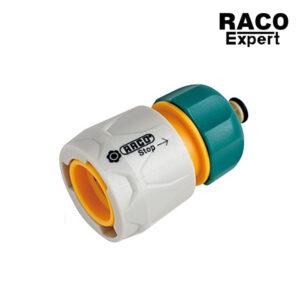 Raco Experts RT55205C ข้อต่อสายยาง แบบมีวาล์ว ขนาด 1.2 หรือ 4 หุน