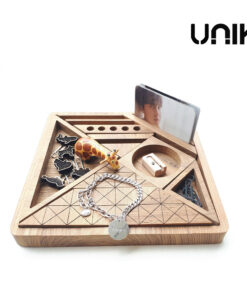 UNIK-ชุดวาง-stationery-ไม้สัก
