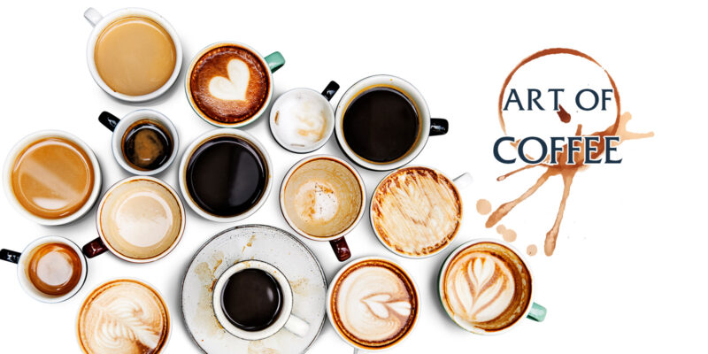 art of coffee ศิลปะบนถ้วยกาแฟ