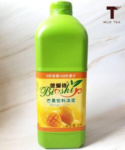 น้ำมะม่วงเข้มข้น สูตรอร่อย ขายดีสำหรับร้านน้ำ