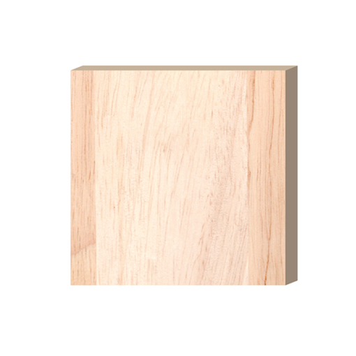 ป้ายตั้งโต๊ะไม้ ทรงสี่เหลี่ยม(Square) ไม้ยางพารา ตกแต่งบ้าน บ้านสวย