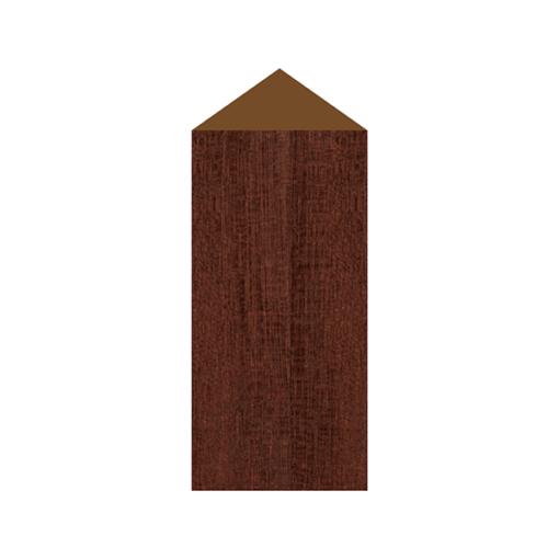 ป้ายตั้งโต๊ะไม้ ทรงสามเหลี่ยม(Triangle) ไม้เนื้อแข็ง ตกแต่งบ้าน