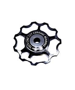 ลูกรอกจักรยาน AEST Jockey Wheel สีดำ