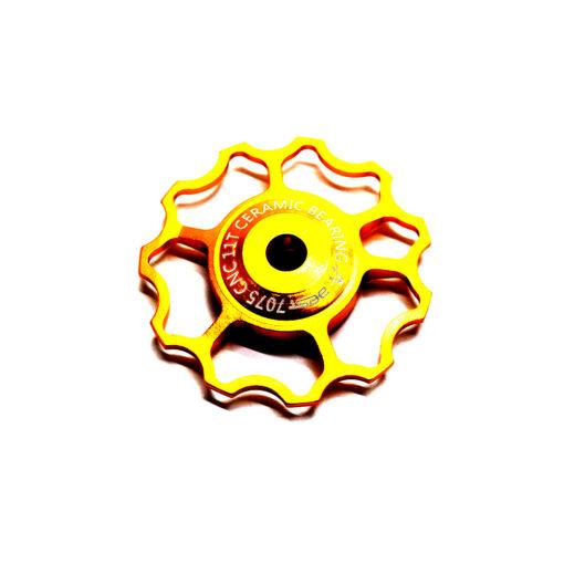 ลูกรอกจักรยาน AEST Jockey Wheel สีทอง