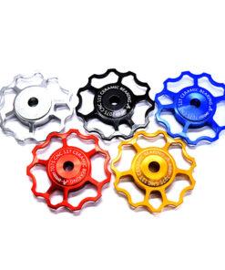 ลูกรอกเซรามิคแบริง จักรยาน AEST น้ำหนัก 9 กรัม อุปกรณ์ตกแต่งจักรยาน