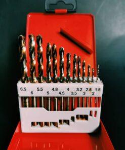 ชุดดอกสว่านเจาะเหล็กไฮสปีด Bullet 12 ตัว/ชุด ระบบมิลลิเมตร NO.4M