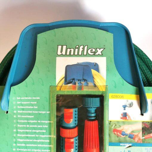 ชุดสายยางสนาม UNIFLEX สายยาง 25 เมตร ที่แขวนสายยาง ชุดข้อต่อสวมเร็ว