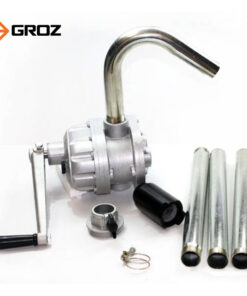 มือหมุนน้ำมันมือหมุนอะลูมิเนียม GROZ ดูดน้ำมันจากถังได้ 205 ลิตร รุ่นงานหนัก