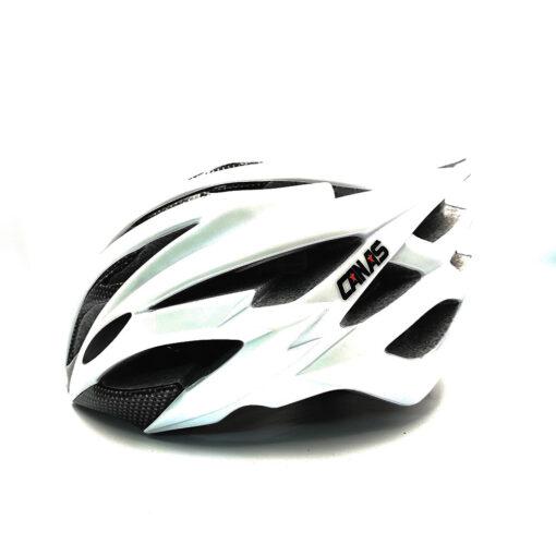 หมวกจักรยาน CANAS นักปั่นสาย Road MTB Size L/XL (59-62 Cm) สีขาว