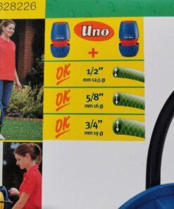 UNIFLEX โรลม้วนสายยาง แบบไม่มีล้อ Made in italy คุณภาพสูง