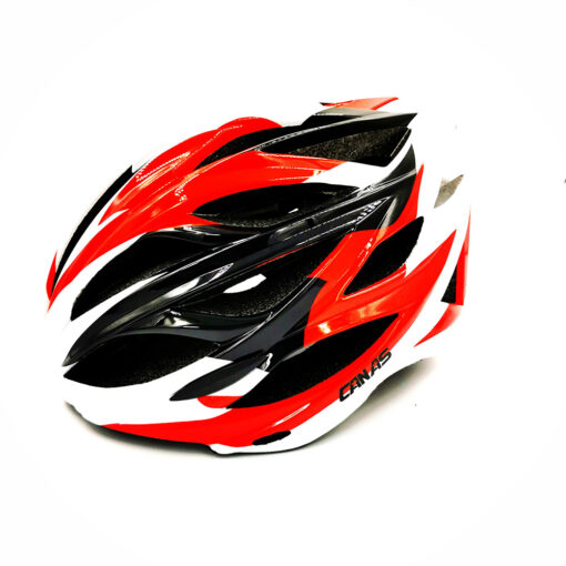 หมวกจักรยาน CANAS HELMET Adventure สวย เท่ห์ บาดใจ สำหรับนักปั่น สาย Adventure Touring MTB Size L.XL รอบหัว(59-62 Cm) แดง