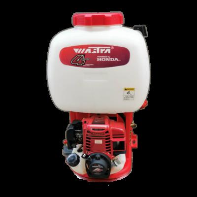 Wastra เครื่องพ่นยาสะพายหลัง เครื่องยนต์ HONDA GX35 (4 จังหวะ) สีแดง